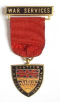WW2 Canteen British Columbia War Services Badge