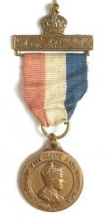 Edward VIII 1937 Coronation Bronze Medal