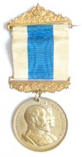 Edward VII & Queen Alexandra 1902 Coronation Medal