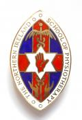 Northern Ireland School of Physiotherapy 1972 silver badge