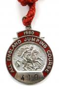1980 All England Jumping Course Hickstead members badge
