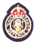 Civil Defence Corps Scotland cloth badge circa 1949 to 1953