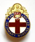 Doncaster New Infirmary Womens Effort bazaar fundraisers badge