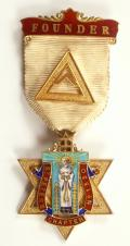 Masonic St.Peter's Chapter No 1330 Founder Jewel