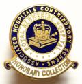 Royal Berkshire Hospital honorary collector fundraisers badge