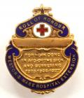 Weston super Mare Hospital extension 1927 roll of honour badge