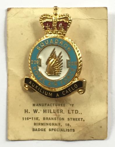 ® Lapel Pin Badge Gift RAF No 213 Squadron Royal Air Force