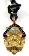 1930 Sandown Park Racecourse horse racing club badge