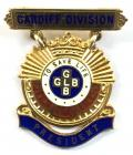 Girls Life Brigade President of the Cardiff Division 1957 silver badge