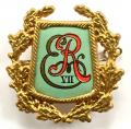 King Edward VII 1902 Coronation souvenir badge