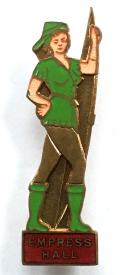 Empress Hall Theatre Robin Hood pantomime badge