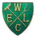 WW2 Womens Emergency Land Corps WELC home front badge