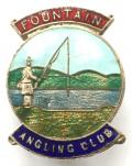 Fountain Angling Club fishing enthusiast membership badge