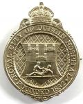 Royal City of Dublin Hospital 1910 silver Irish nurses badge