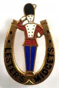 Lesters Midgets Grenadier badge entertainers Blackpool Tower Circus
