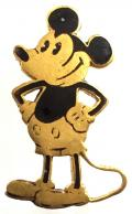 Mickey Mouse cartoon character badge Charles Horner c1930s