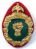1949 Womens Land Army ten years service badge