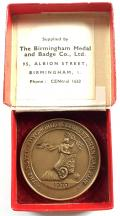 London to Brighton veteran motor car run 1970 RAC official medal