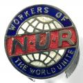 National Union of Railwaymen trade union badge