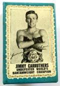 Jimmy Carruthers Australian world boxing champion matchbox cover