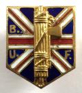 British Union of Fascist 2nd pattern badge c1934 to1940