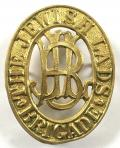 Jewish Lads Brigade pill box brass hat badge