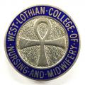 West Lothian College of Nursing and Midwifery 1988 silver badge