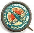 WW2 Risca & Crosskeys Wings for Victory fundraising badge