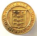 WW2 Royal Ordnance Factory Irvine Ayrshire munition worker badge