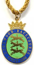 1996 Goodwood Racecourse horse racing badge