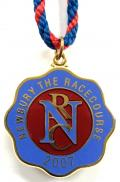 2007 Newbury horse racing club badge