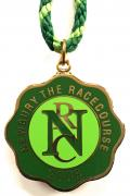 2008 Newbury horse racing club badge