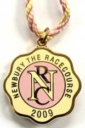 2009 Newbury horse racing club badge