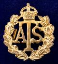 WW2 Auxiliary Territorial Service ATS badge