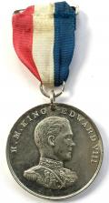 Proposed Edward VIII 1937 Coronation Westminster Abbey medal