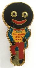 Robertson c1960s Golly Standard Pro-Pat design badge
