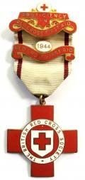 British Red Cross Society Proficiency First Aid Medal 1944 clasp