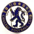 Chelsea football club supporters badge c1950s