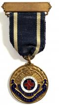 Girls Life Brigade ten years service medal circa 1932