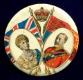 King George V and Queen Mary 1935 Jubilee souvenir badge