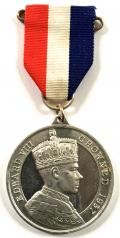 Edward VIII 1937 proposed Coronation Westminster Abbey medal