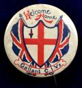 Boer War Welcome Home Gallant CIV City Imperial Volunteers badge