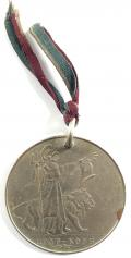 Great War 1919 Peace Celebrations medal Hong Kong