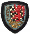 British Automobile Racing Club c1950 BARC embroidered badge