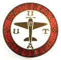 Universal Aircraft officially numbered identification badge c1940