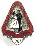 Butlins 1962 Minehead West of England dancing festival badge