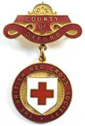 British Red Cross Society County of Oxford badge