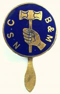 National Society of Coppersmiths Braziers and Metal Workers badge