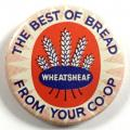Wheatsheaf the best of bread from your Co-op advertising badge