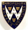 National Federation of the Women's Institutes Shropshire WI badge